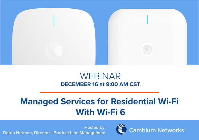 Webinar-Graphic - Managed Services for Residential Wi-Fi with Wi-Fi 6 1